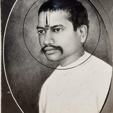 Pic of Mahadevi verma in black & white | sahitya Sadan